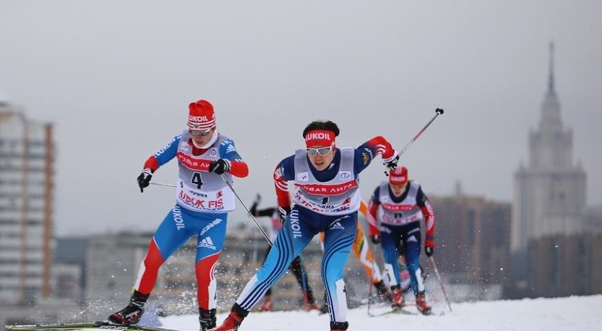 Школьники приняли участие вгонке «Лыжня России»
