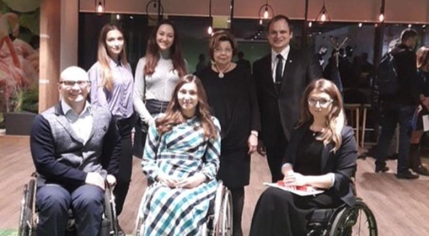 Член комиссии при президенте по делам инвалидов