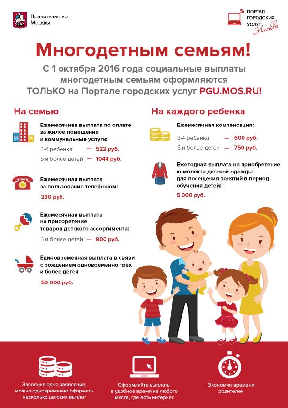 страстно Льготы для многодетных семей в 2017 году в ленинградской области Уникумов